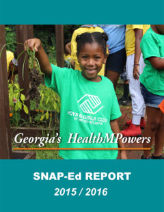 SNAP-Ed Annual Report 2015-2016