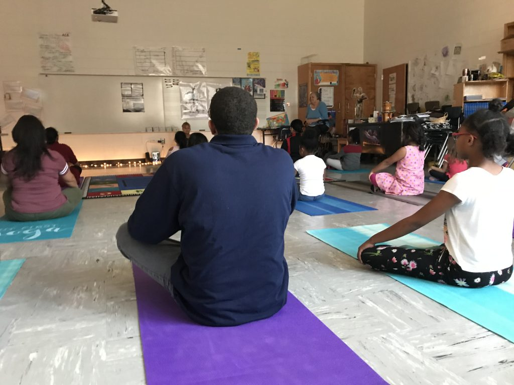 Family Night PGES yoga 2