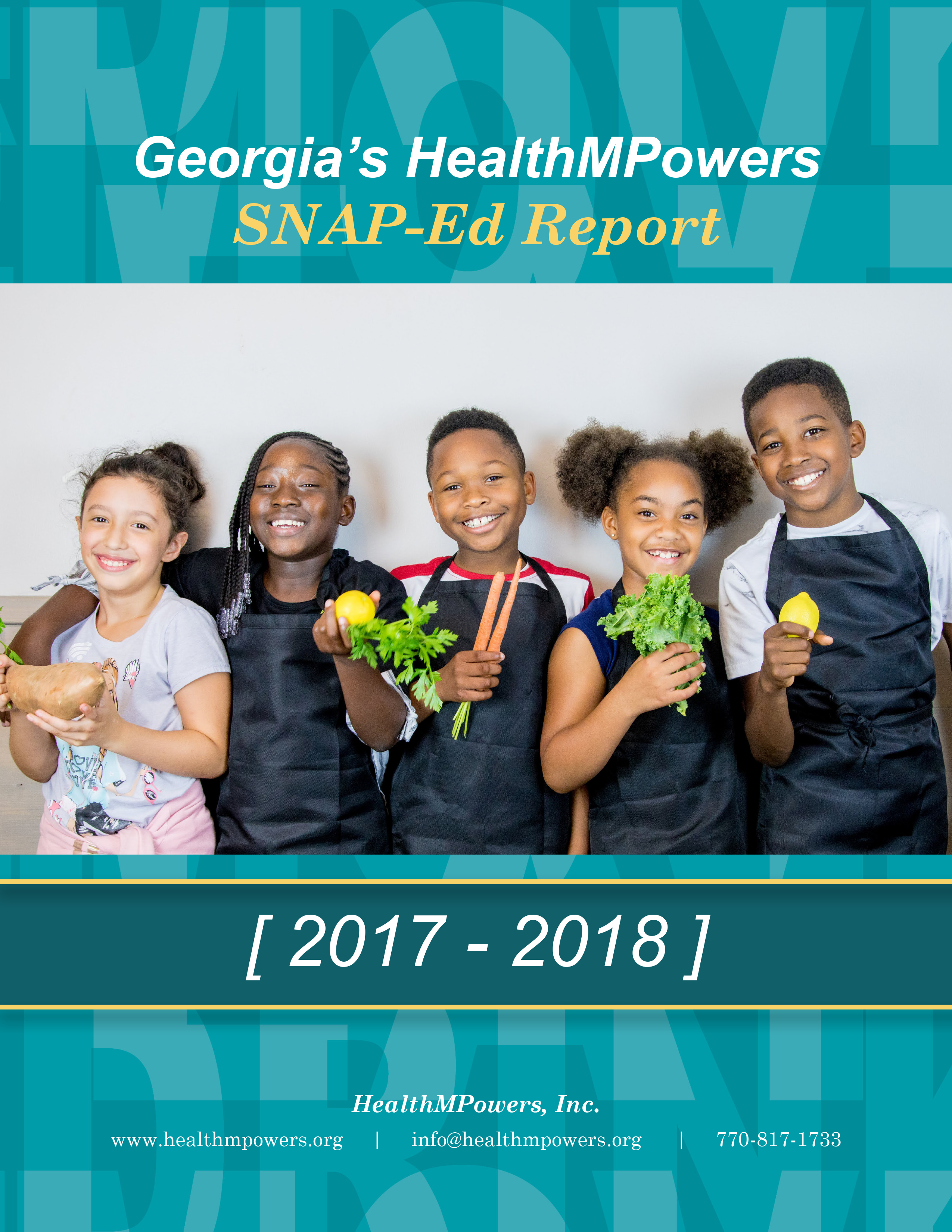 SNAP-Ed Annual Report 2017-2018